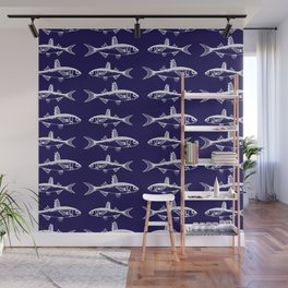 Midnight Fish Wall Mural