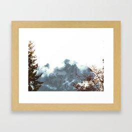 Cushman Peak Framed Art Print