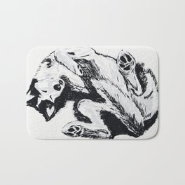 Husky Side UP Bath Mat