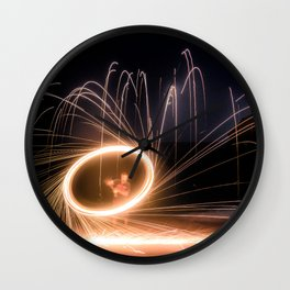 Spinning prt2 Wall Clock