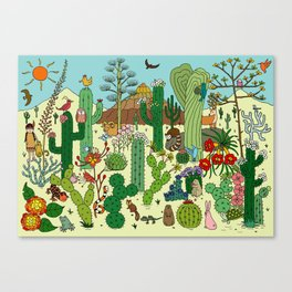 Arizona Desert Museum Canvas Print