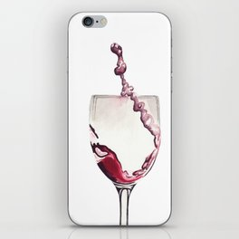 Relax, there's wine! iPhone Skin