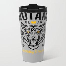 WuTangClan Tiger Metal Travel Mug