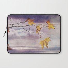 Faded Leaves - JUSTART © Laptop Sleeve