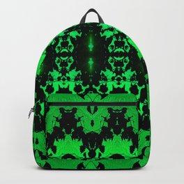 St Patrick's Lights (green) Backpack