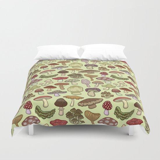 Mushroom Circle Duvet Cover