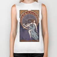 amy pond Biker Tanks featuring Amelia Pond by Tune In Apparel