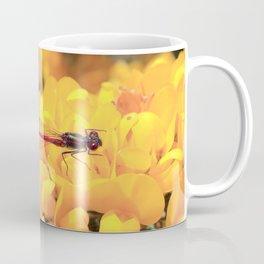 Dragonfly Red Coffee Mug