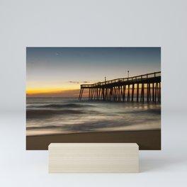 Motion of the Ocean - Sunrise Coastal Landscape Photo Mini Art Print