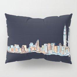 Kuala Lumpur - Midnight Version Pillow Sham