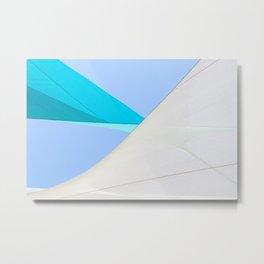 Abstract Sailcloth c1 Metal Print