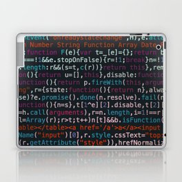 Computer Science Code Laptop & iPad Skin