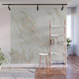 Marble Love Bronze Metallic Wall Mural