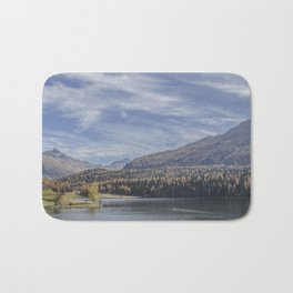 Switzerland Series: Awe-mazing view Bath Mat