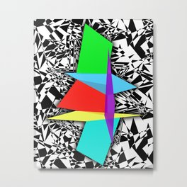 Color Sculpture Metal Print
