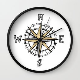 North Wall Clock