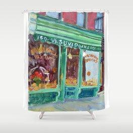 Vesuvio's Shower Curtain
