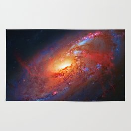 Spiral Galaxy in the Hunting Dogs constellation Rug