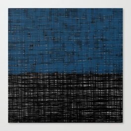 platno (blue) Canvas Print