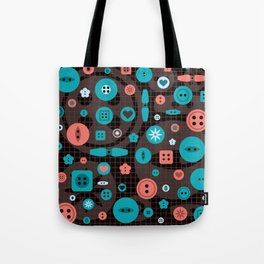 button it Tote Bag