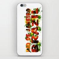 rio de janeiro iPhone & iPod Skins featuring Rio de Janeiro by J. Ekstrom