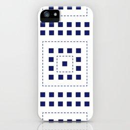 BLUE SQ iPhone Case