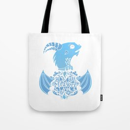 Dragon words Tote Bag