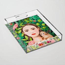 Jungle Acrylic Tray