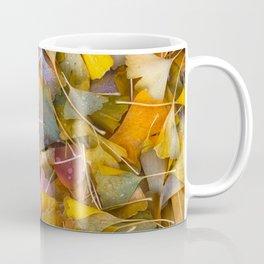 Fallen Ginkgo Leaves Coffee Mug