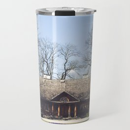 Larch manor house Travel Mug