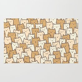 Cats on Cats on Cats Rug