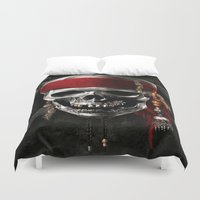pirate Duvet Covers featuring PIRATE by Acus