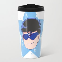 Karamatsu Face Shirt Travel Mug