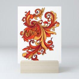Octopus's Fancy - Red Mini Art Print
