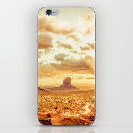 Monument Valley Sunrise iPhone Skin