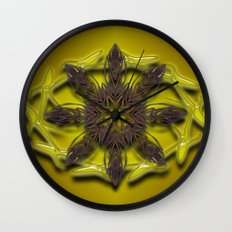 Abstract X Eight Wall Clock