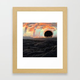 Big Island Rings Framed Art Print
