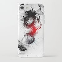 women iPhone & iPod Cases featuring women by  MuDi