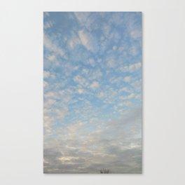 Blue Sky Photograph Canvas Print