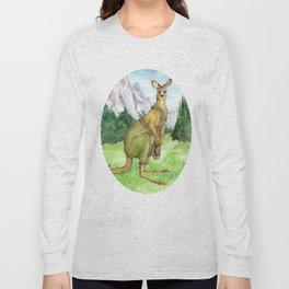 Austrian Kangaroo Long Sleeve T-shirt