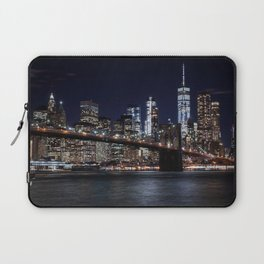 The Lights of New York City Laptop Sleeve