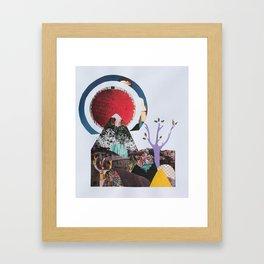 s o l i t u d e Framed Art Print