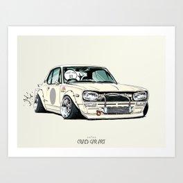 ozizo art 0002 Art Print