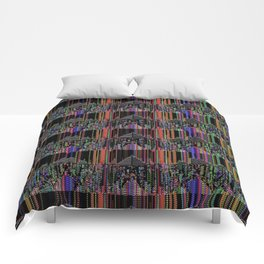 parallel interference Comforters