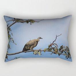 Observant Vultures Rectangular Pillow