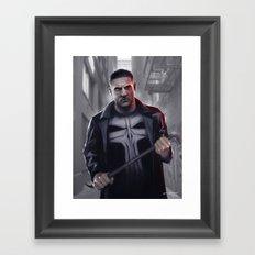 The Punisher Framed Art Print