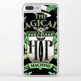 the tragically hip man machine poem 2019 hajarlah Clear iPhone Case