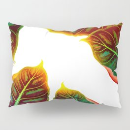 Sunlit Leaves Pillow Sham