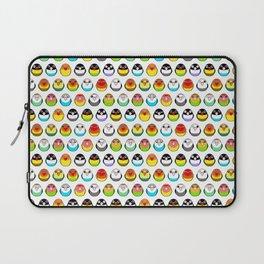 Lovebird colour mutations Laptop Sleeve