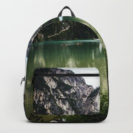 LAKE - MOUNTAINS - ROCKS Backpack
